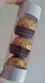 3 PACK FERRERO ROCHER CHOCOLATES IN TUBE