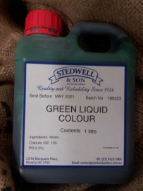 GREEN FOOD LIQUID COLOURING 1L