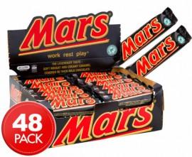 MARS CHOCOLATE BARS 53g X 48