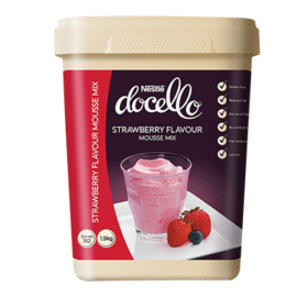 NESTLE DOCELLO STRAWBERRY FLAVOURED MOUSSE MIX 1.9L