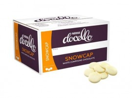 SNOWCAP WHITE CHOCOLATE COMPOUND BUTTONS 5KG