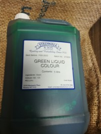 GREEN LIQUID FOOD COLOURING 5L