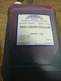 RED LIQUID FOOD COLOURING 5L