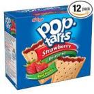 KELLOGGS POP TARTS STRAWBERRY UNFROSTED