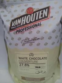 VAN HOUTEN WHITE BUTTONS 1.5KG