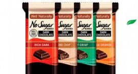 99% SUGAR FREE CHOCOLATES 90g - SET 3 (DARK ORIGINAL, MINT & RASPBERRY)