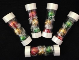 3 PACK LINDT LINDOR IN TUBE