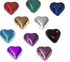 ASSORTED CHOCOLATE HEARTS 100