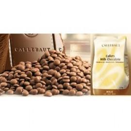 CALLEBAUT MILK CHOCOLATE CALLETS 1KG