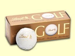 LINDT GOLF BALLS