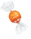 LINDT LINDOR MILK ORANGE BALLS 1KG