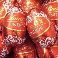 MILK LINDT EASTER EGGS 1KG