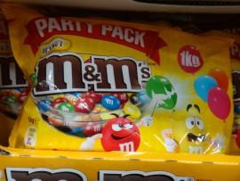 M&Ms PEANUT PARTY VALUE BAG 1KG