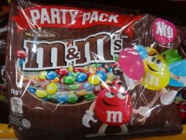 M&Ms ORIGINAL PARTY VALUE BAG 1KG
