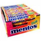BOX MENTOS ORIGINAL FRUIT ROLLS 40 X 37.5g